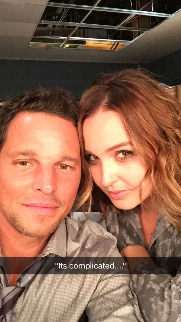 Justin Chambers Online » First BTS Photo of Justin in season 13 of ...