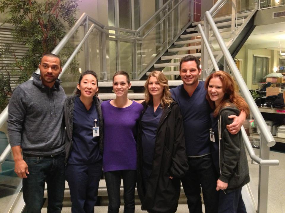 Justin Chambers Online » New Grey\'s Anatomy Set FanPic